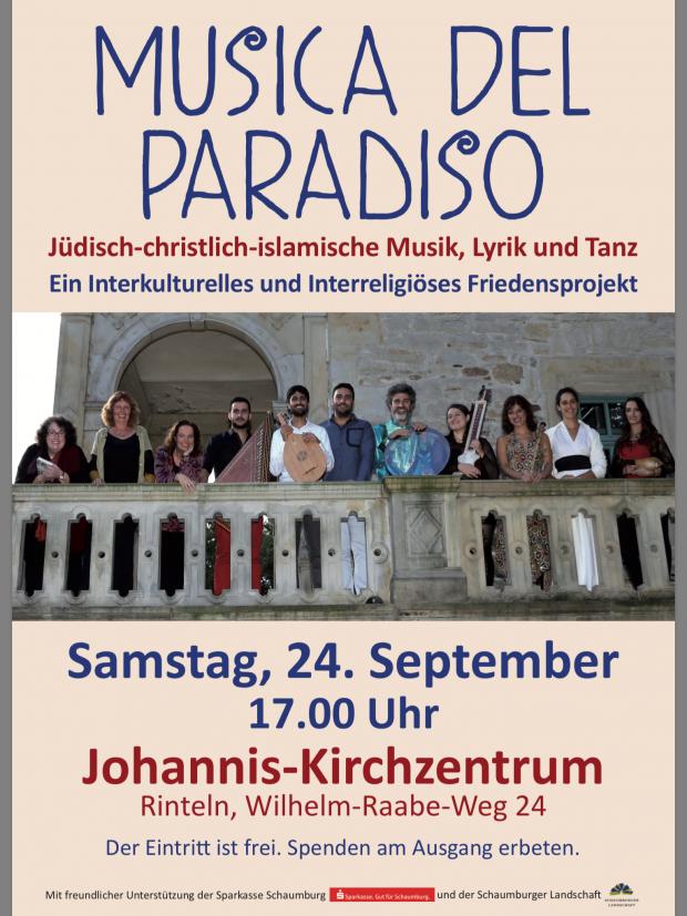 Musica del Paradiso @ Johannis-Kirchzentrum, Rinteln | Rinteln | Niedersachsen | Deutschland