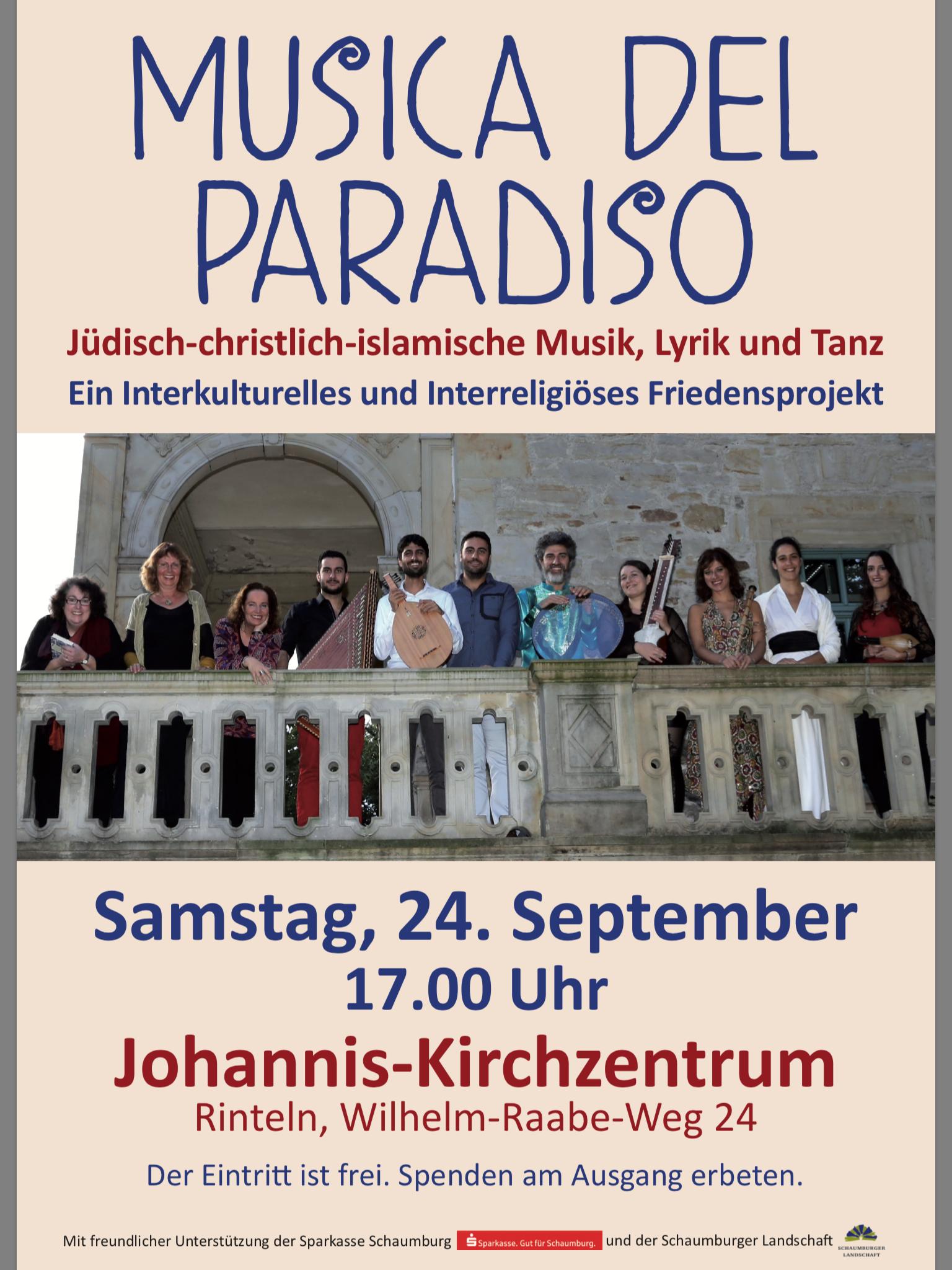 Musica del Paradiso 24. September 2016