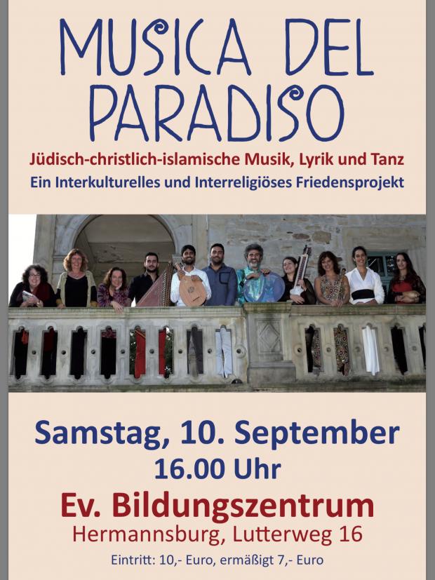 Musica del Paradiso @ Evangelisches Bildungszentrum, Hermannsburg | Hermannsburg | Niedersachsen | Deutschland